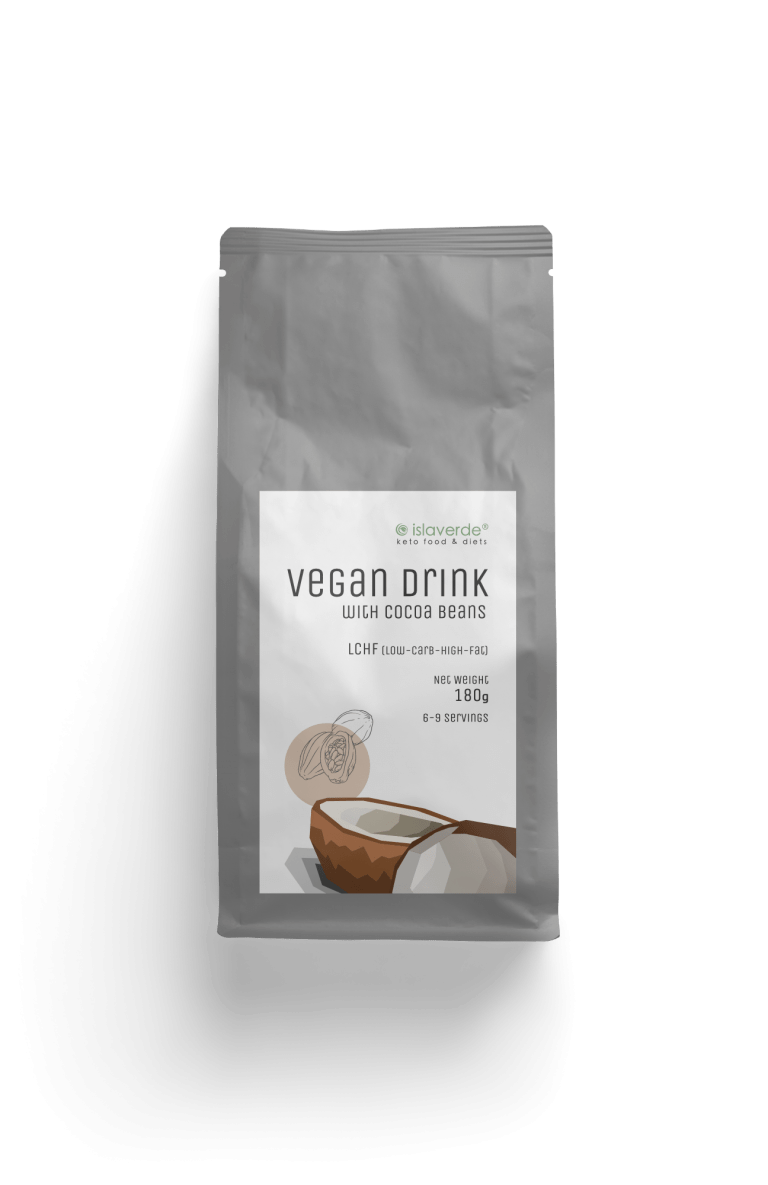 Vegan Drink With Cocoa Beans